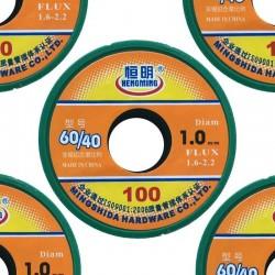 SET003 - 5 Rocchetti stagno da 1mm