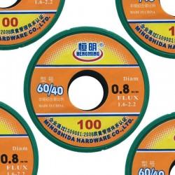SET004 - 5 Rocchetti stagno da 0,8mm