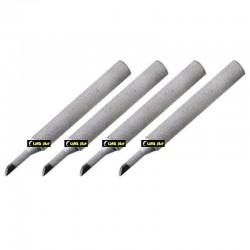ART. 890080 - Set 4 Punte a scalpello 45° da 3mm - 79-1136
